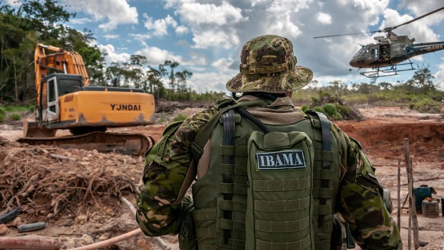 e952e9723c836 Grupo Especializado de Fiscalização (GEF) do Ibama combate desmatamento e  garimpo de cassiterita na Terra Indígena Tenharim do Igarapé Preto